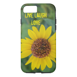 Live, Lachen, Liebe, Blume iPhone 6/6s Fall iPhone 8/7 Hülle