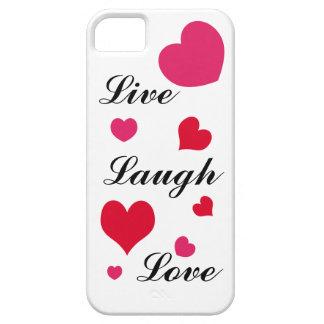 Live, Lachen, Liebe iPhone 5 Etui