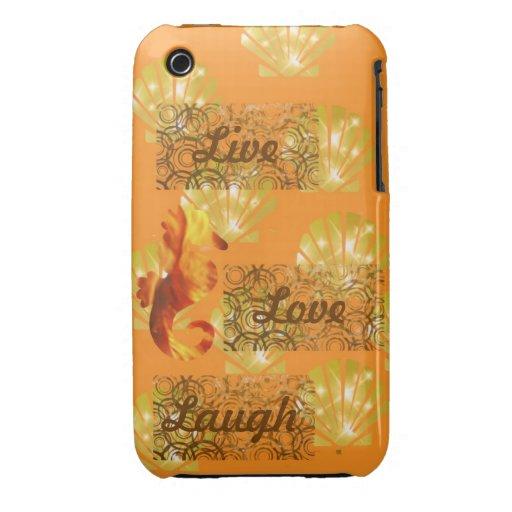 Live, Lachen, Liebe iPhone 3 Case-Mate Hülle