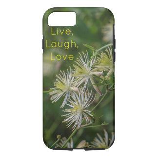 Live, Lachen, Liebe inspirierte iPhone 6/6s Fall iPhone 8/7 Hülle