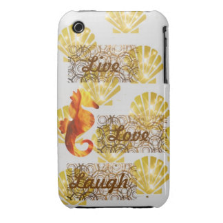 Live, Lachen, Liebe iPhone 3 Covers