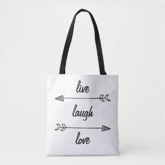 Live, Lachen, Liebe-Taschen-Tasche Tasche