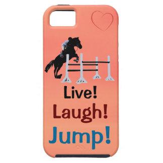 Live! Lachen! Sprung! Pferdepullover Hülle Fürs iPhone 5