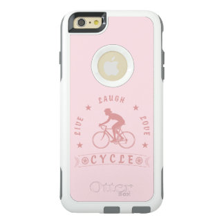 Live Laugh Love Cycle Dame Text (Rosa) OtterBox iPhone 6/6s Plus Hülle