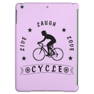 Live Laugh Love Cycle Dame Text (Schwarzes)