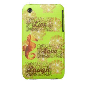 Live, Liebe, Lachen Case-Mate iPhone 3 Hüllen