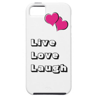 """Live, Liebe, Lachen "" iPhone 5 Hülle"