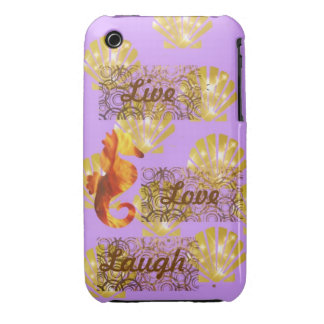 Live, Liebe, Lachen iPhone 3 Cover