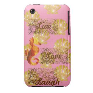 Live, Liebe, Lachen Case-Mate iPhone 3 Hülle