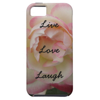 Live Liebe Lachen-Rose Iphone 5 5s Fall