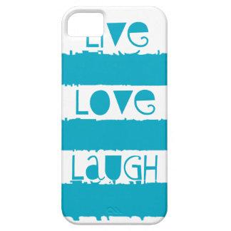 Live, Liebe, lachen Sie städtischen Tropfen-Fall Etui Fürs iPhone 5