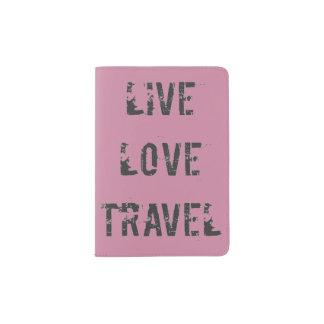 Live, Liebe, Reise Passhülle