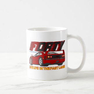 LIVE_LIFE_IN_THE_FAST_LANE: vierzig Kaffeetasse