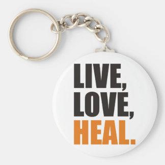 Live, Love, Heal Schlüsselanhänger