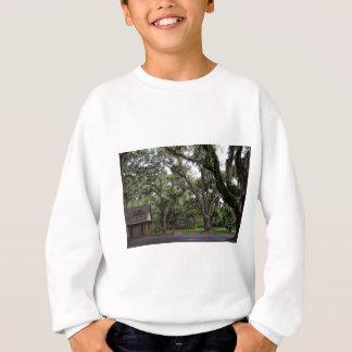 Live Oak-Baum mit spanischem Moos Sweatshirt