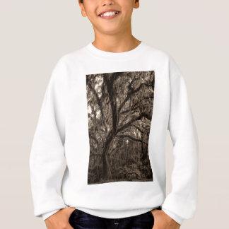 Live Oak und spanisches Moos in den Sepia-Tönen Sweatshirt