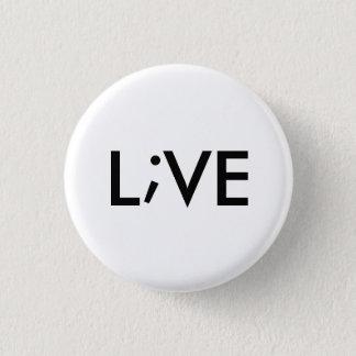 Live Runder Button 3,2 Cm