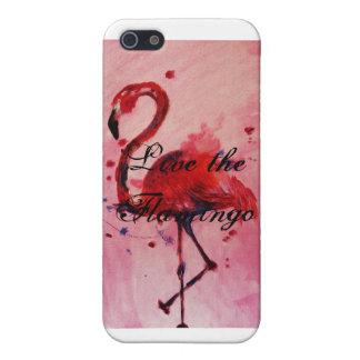 Live the Flamingo - Iphone 5 Hülle/Case Hülle Fürs iPhone 5