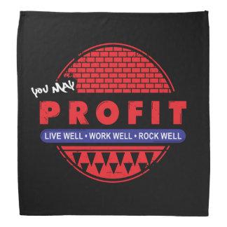 Livearbeits-Felsen u. Sie können profitieren Kopftuch