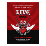 Livefelsen-Musik-Konzert-/Party-Flyer