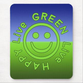 Livegrün-glückliche Prolebhaftumwelt ökologisch Mauspads