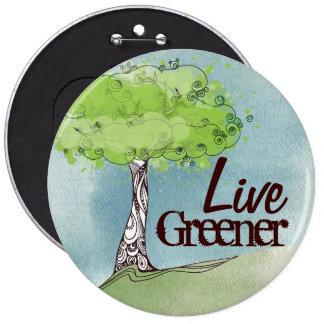 Livegrün Runder Button 15,3 Cm