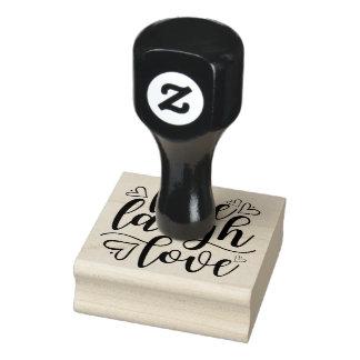 Livelachen-Liebe-Herz-Gekritzel-Gummi-Briefmarke Gummistempel