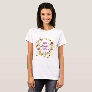Livelachen-LiebeWatercolorWreath T-Shirt
