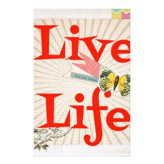 Liveleben Bedrucktes Büropapier