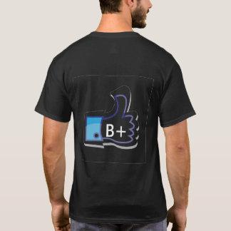 LIVEleben MÖGEN MEINE BLUTGRUPPE. B-POSITIV-SHIRT T-Shirt