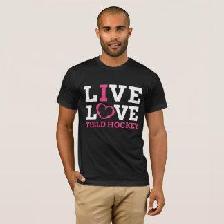 LiveLiebe-Feld-Hockey-T - Shirt