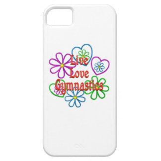 LiveLiebe-Gymnastik iPhone 5 Case