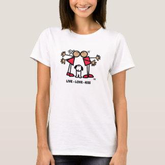 LIVELiebe-KUSS T-Shirt