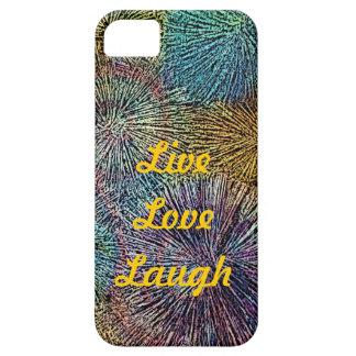LiveLiebe Lachen-FEIERN das LEBEN iPhone 5 Etuis
