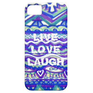 LiveLiebe-Lachen iPhone 5 Etui
