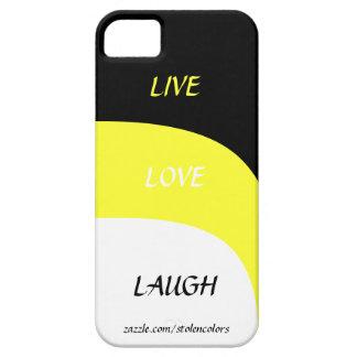 LiveLiebe-Lachen Iphone 5 iPhone 5 Schutzhülle