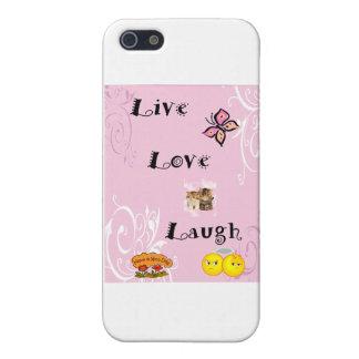 LiveLiebe-Lachen iPhone 5 Hülle