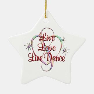 LiveLiebe-Linie Tanz Keramik Ornament