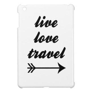 LiveLiebe-Reise iPad Mini Hülle