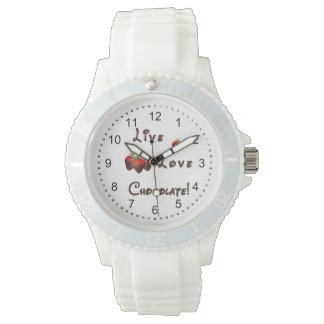 LiveLiebe-Schokolade Armbanduhr