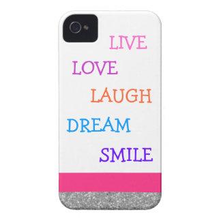 LiveLiebelachen-Traumlächeln iPhone 4 Cover