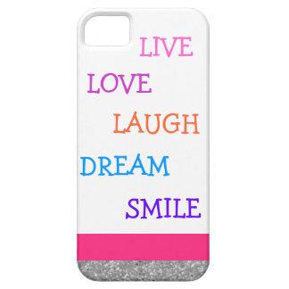 LiveLiebelachen-Traumlächeln Schutzhülle Fürs iPhone 5