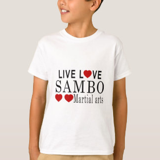 LIVELiebesambo-KRIEGSkünste T-Shirt