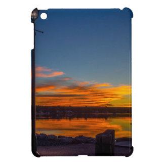 Liverpool-Bucht-Sonnenuntergang iPad Mini Hülle