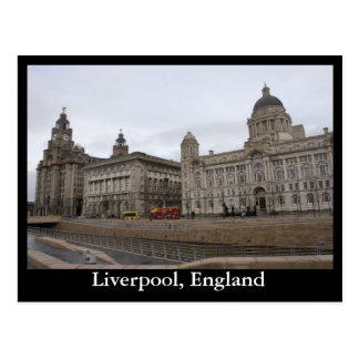 Liverpool, England Postkarte