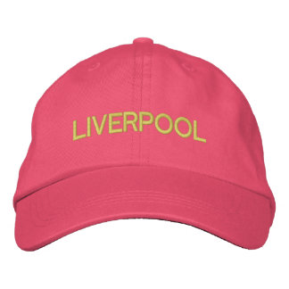 Liverpool-Kappe Bestickte Baseballkappe