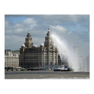 Liverpool Postkarte