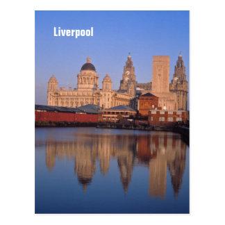 Liverpool-Postkarte Postkarte