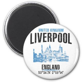 Liverpool Runder Magnet 5,1 Cm