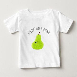 Livin auf einer Birne Baby T-shirt